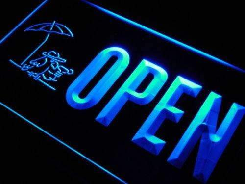 Bar Parrot Cocktail Open LED Neon Light Sign - Way Up Gifts