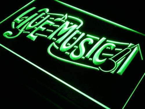 Bar Restaurant Live Music LED Neon Light Sign  Business > LED Signs > Beer & Bar Neon Signs - Way Up Gifts