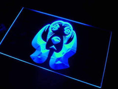 Basset Hound Dog LED Neon Light Sign