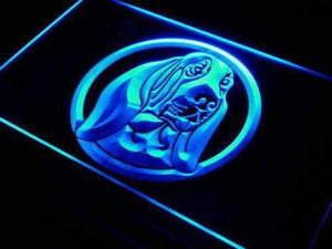 Basset Hound Pet Neon Sign (LED)-Way Up Gifts