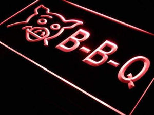 BBQ Barbecue Pork Neon Sign (LED)-Way Up Gifts