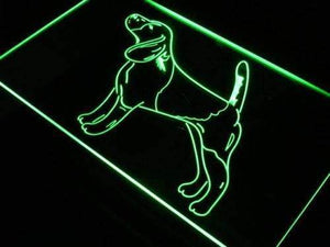 Beagle Pet Neon Sign (LED)-Way Up Gifts