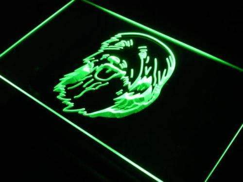 Bearded Collie Head LED Neon Light Sign - Way Up Gifts