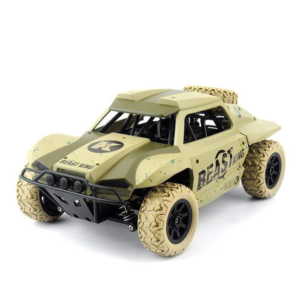 "Off Road RC Rally Car 1:18 - ""The Beast"" Beige Kids > RC Electronics > RC Cars - Way Up Gifts"