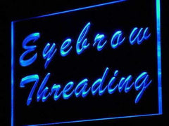 Beauty Salon Eyebrow Threading LED Neon Light Sign