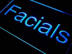 Beauty Salon Facials LED Neon Light Sign