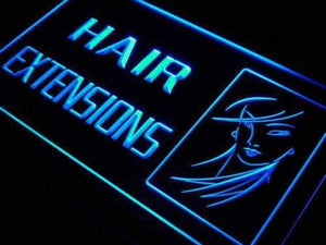 Beauty Salon Hair Extensions Neon Sign (LED)-Way Up Gifts