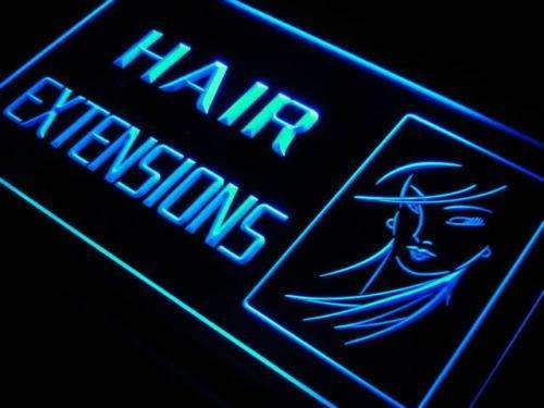 Beauty Salon Hair Extensions Neon Sign (LED)