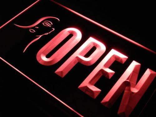 Beauty Salon Makeup Open LED Neon Light Sign - Way Up Gifts