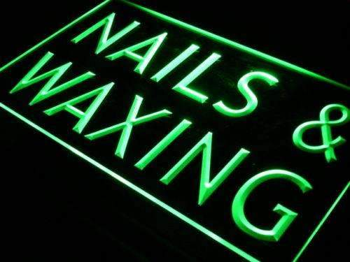 Beauty Salon Nails Waxing LED Neon Light Sign - Way Up Gifts