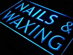 Beauty Salon Nails Waxing Neon Sign (LED)-Way Up Gifts