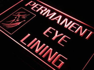 Beauty Salon Permanent Eye Lining Neon Sign (LED)-Way Up Gifts