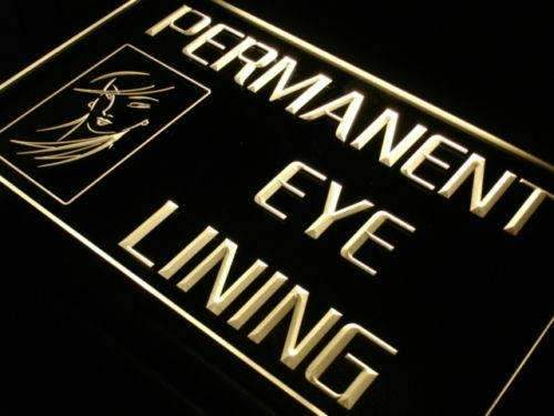 Beauty Salon Permanent Eye Lining LED Neon Light Sign - Way Up Gifts