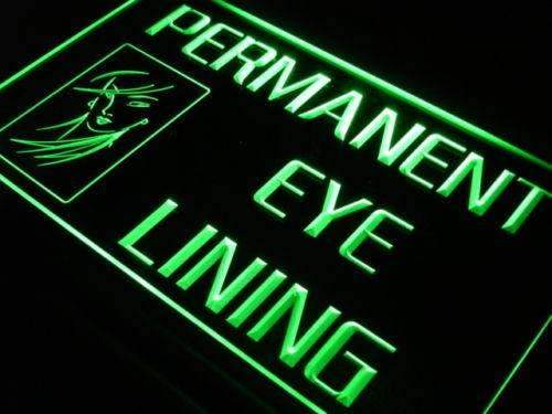 Beauty Salon Permanent Eye Lining Neon Sign (LED)