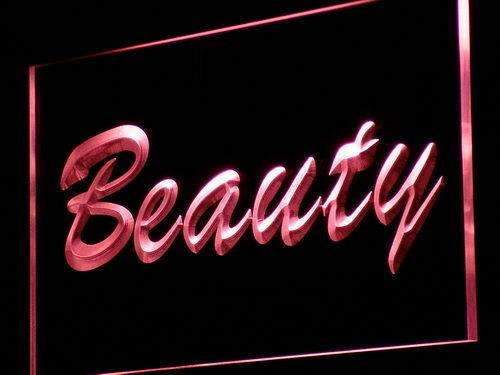 Beauty Shop Neon Sign (LED)-Way Up Gifts