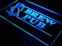 Beer Brew Pub LED Neon Light Sign