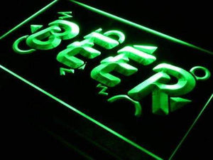 Beer Neon Sign (LED)-Way Up Gifts
