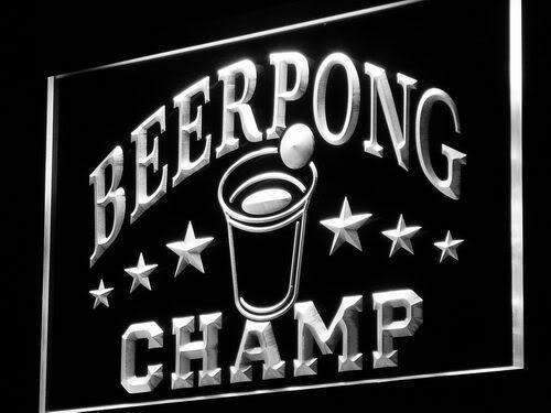 Beer Pong Champ LED Neon Light Sign - Way Up Gifts