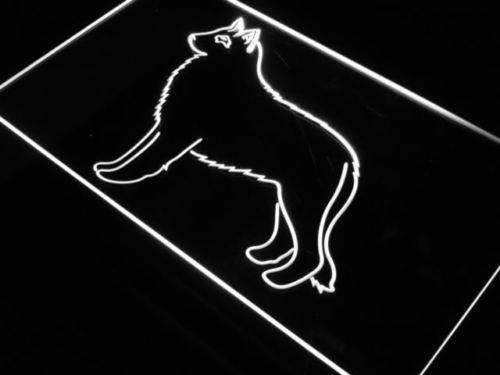 Belgian Sheepdog LED Neon Light Sign - Way Up Gifts