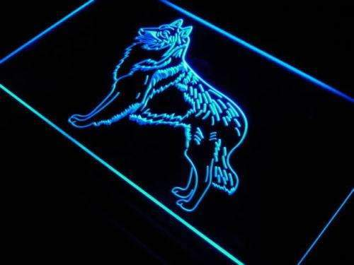Belgian Tervuren LED Neon Light Sign - Way Up Gifts