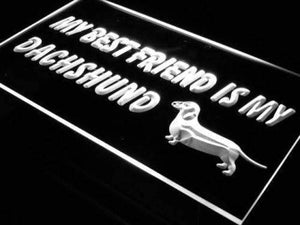 Best Friend Dachshund Neon Sign (LED)-Way Up Gifts