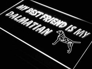 Best Friend Dalmatian Neon Sign (LED)-Way Up Gifts