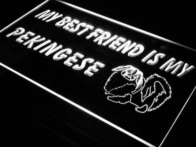 Best Friend Pekingese LED Neon Light Sign - Way Up Gifts