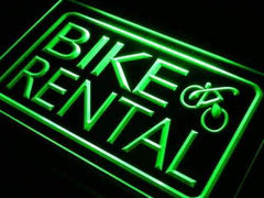 Bicycle Bike Rental LED Neon Light Sign