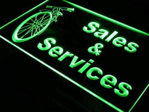 Bicycle Bike Shop Sales Services LED Neon Light Sign  Business > LED Signs > Uncategorized Neon Signs - Way Up Gifts