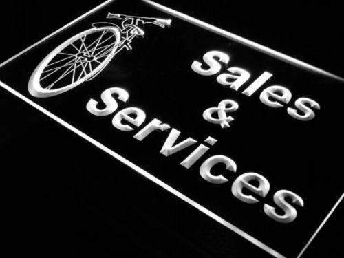 Bicycle Bike Shop Sales Services LED Neon Light Sign - Way Up Gifts