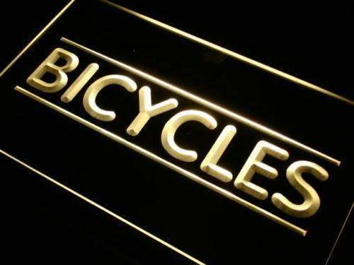 Bikes Bicycles Shop Neon Sign (LED)-Way Up Gifts