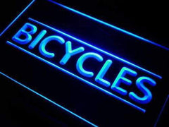 Bikes Bicycles Shop LED Neon Light Sign