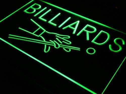 Billiards Neon Sign (LED)-Way Up Gifts