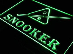 Billiards Snooker Neon Sign (LED)-Way Up Gifts