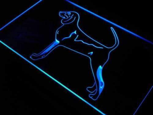 Black & Tan Coonhound LED Neon Light Sign - Way Up Gifts