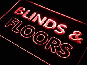 Blinds & Floors Services Neon Sign (LED)-Way Up Gifts