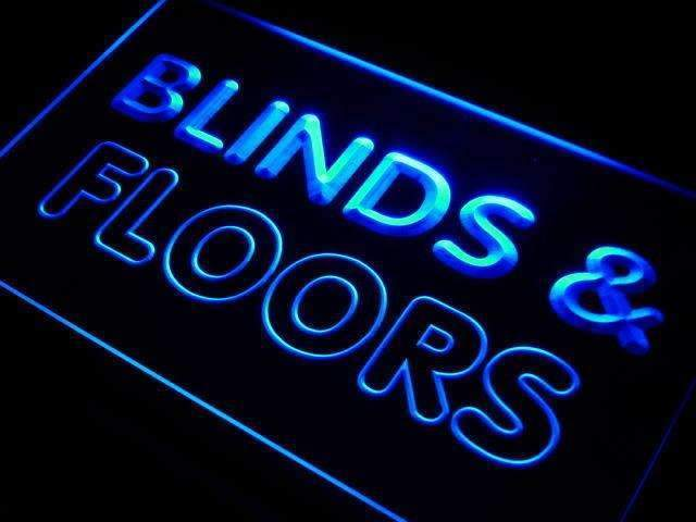 Blinds & Floors Services Neon Sign (LED)