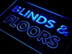 Blinds & Floors Services LED Neon Light Sign