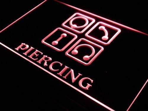 Body Ear Piercing LED Neon Light Sign - Way Up Gifts