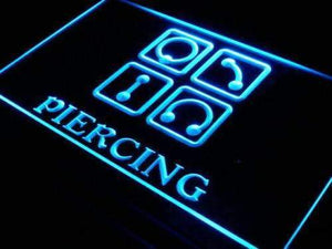Body Ear Piercing Neon Sign (LED)-Way Up Gifts