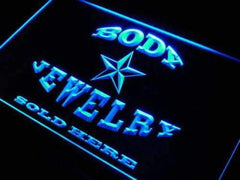 Body Jewelry Sold Here LED Neon Light Sign