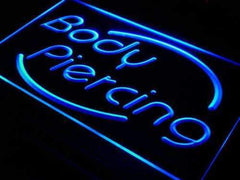 Body Piercing Studio LED Neon Light Sign