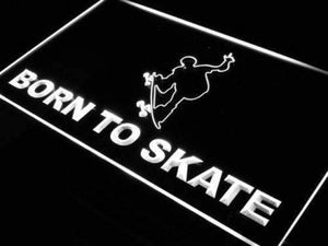 Born to Skate Skateboard Neon Sign (LED)-Way Up Gifts