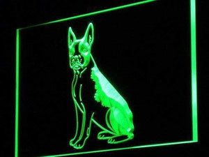 Boston Terrier Dog Neon Sign (LED)-Way Up Gifts