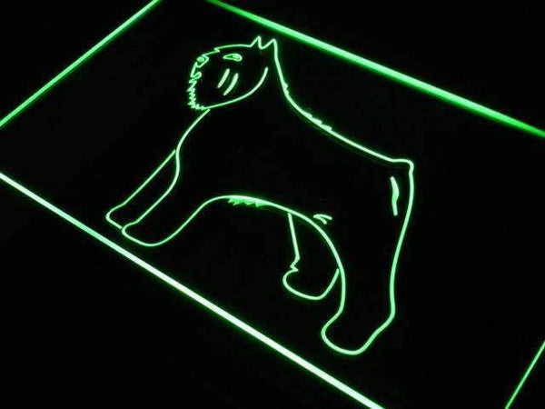 Bouvier des Flandres Dog LED Neon Light Sign  Business > LED Signs > Dog Neon Signs - Way Up Gifts