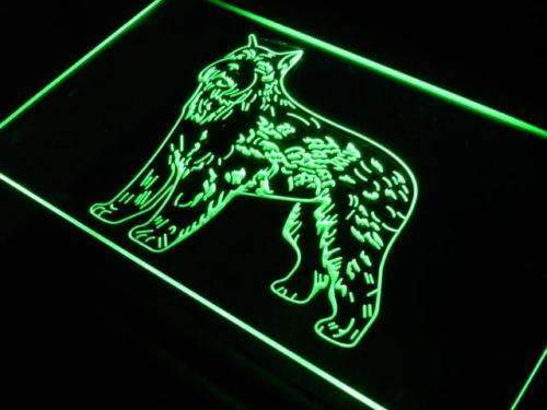 Bouvier des Flandres Dog LED Neon Light Sign - Way Up Gifts