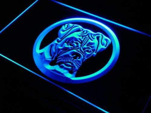 Boxer Dog Neon Sign (LED)