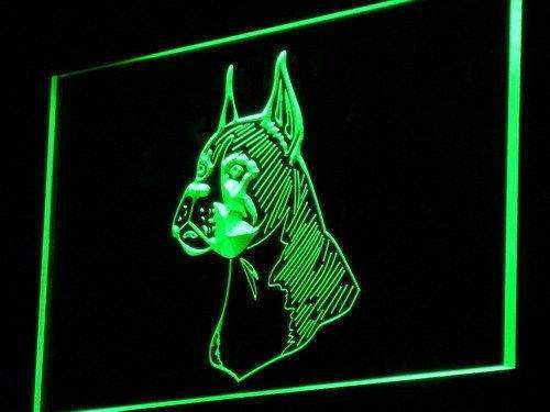 Boxer Dog Pet Head LED Neon Light Sign - Way Up Gifts