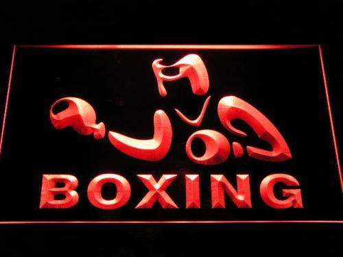 Boxing Neon Sign (LED)-Way Up Gifts