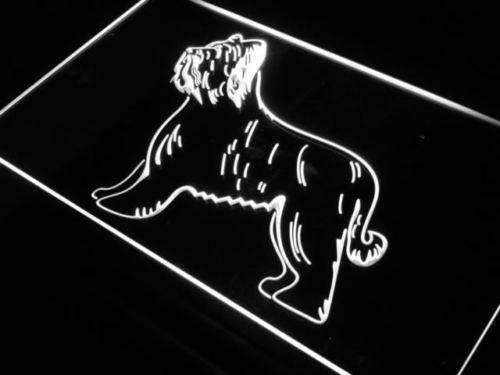 Briard Dog Neon Sign (LED)-Way Up Gifts